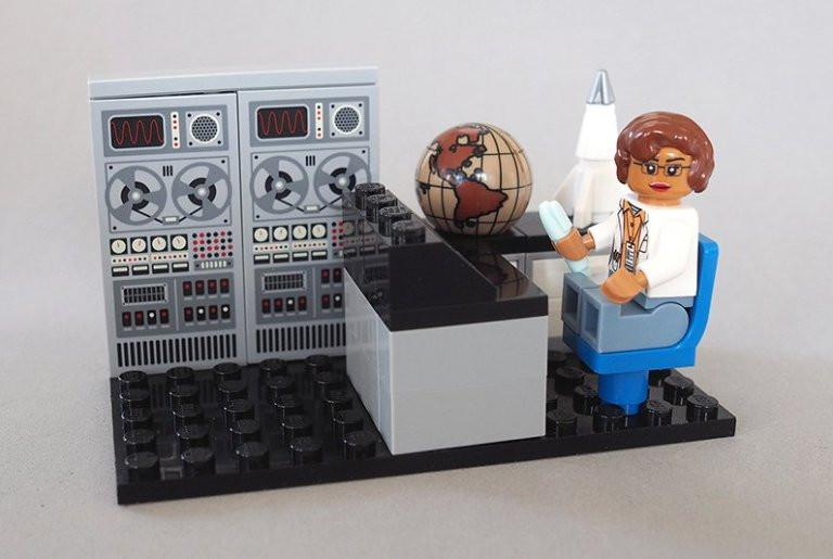 LEGO Honors Hidden Figures' Katherine Johnson In Its New 'Women Of NASA' Set