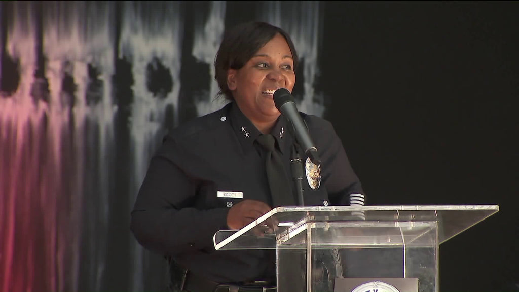 Regina Scott Becomes LAPD's First African American Woman Promoted To Deputy Chief