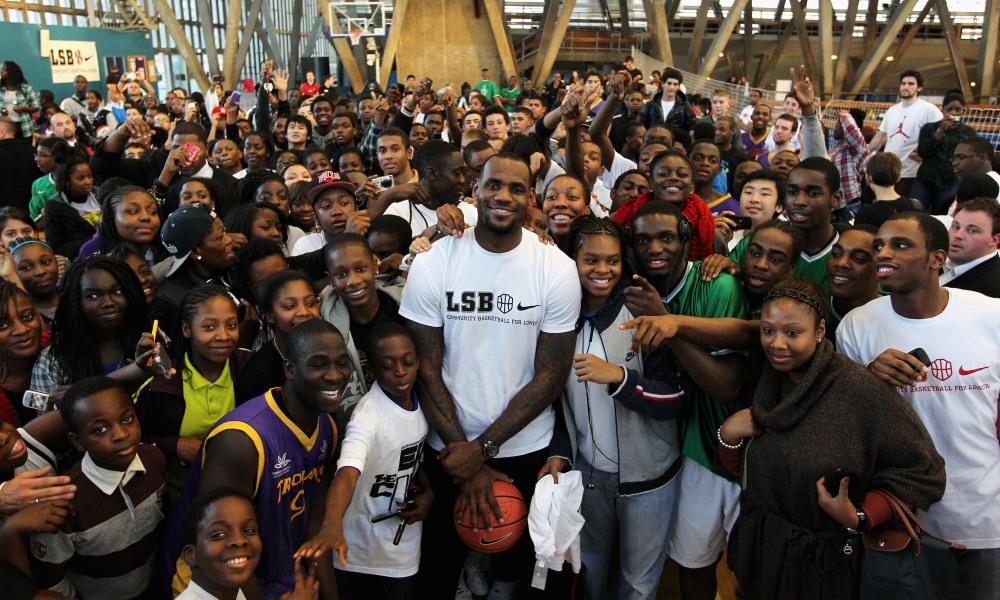 Today's The Big Day: LeBron James Opens New Public School In His Hometown Of Akron, Ohio