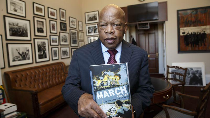 Black Excellence For The Win: Books by Civil Rights Icon John Lewis Sell Out On Amazon