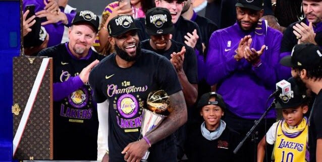 As Lakers Win NBA Finals LeBron James Makes History As First NBA Player To Become MVP In Three Different Franchises