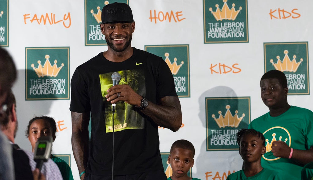 LeBron James' Foundation Debuts Renovations To Transitional Housing For Families at School