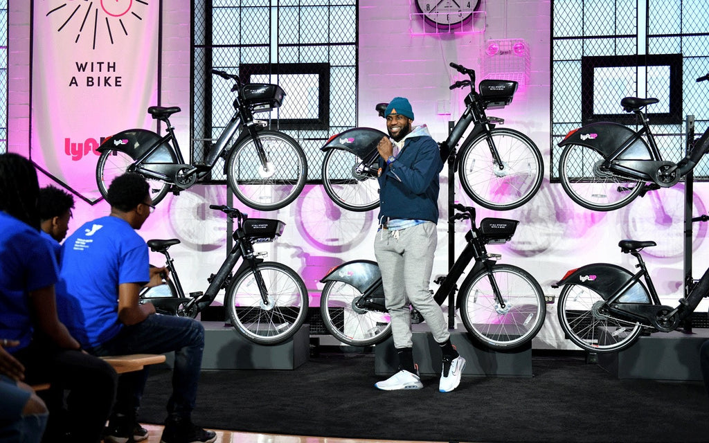 LeBron James Partners With Lyft To Give Thousands Of Youth Access To Free Bikes