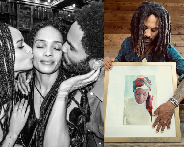 Lenny Kravitz Releases New Memoir Honoring Mom And The Women In His Life