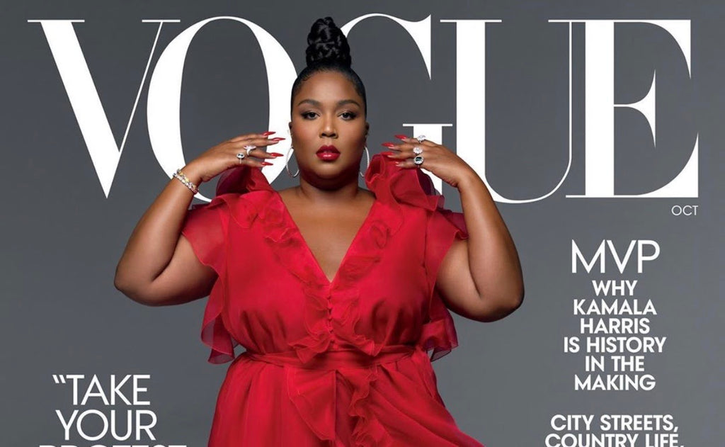 Pop Superstar Lizzo Is One of the Few Plus-Sized Black Woman To Grace The Cover Of Vogue