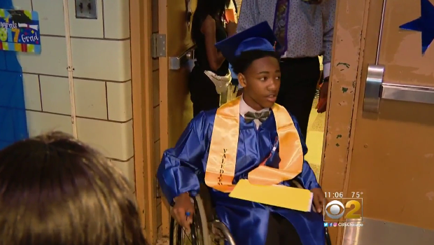 Martrell Stevens Graduates As Valedictorian 9 Years After Being Paralyzed By Stray Bullet