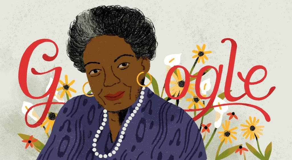 Google Doodle Honors Literary Icon Maya Angelou On Her 90th Birthday