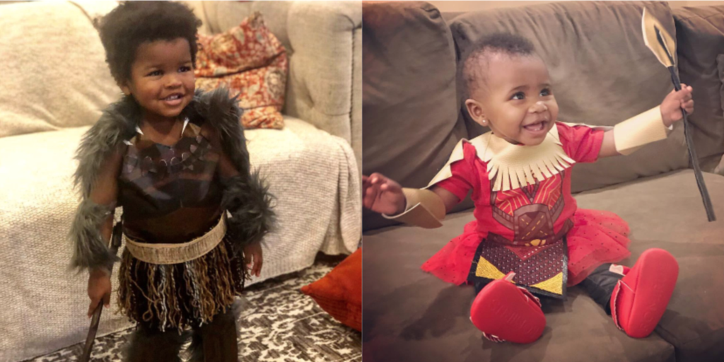 Baby M'Baku And The Other 14 Kids Who Won Halloween This Year