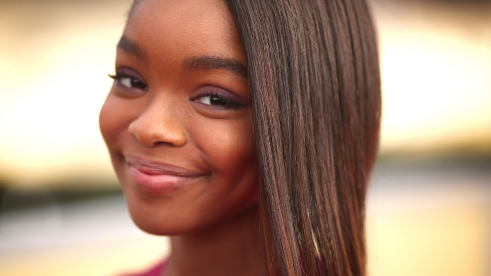 'Black-ish Star Marsai Martin Becomes Youngest Person to Get a First-Look Deal With a Major Studio