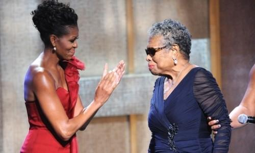 Watch Michelle Obama Explain What She Learned From Maya Angelou About Black Beauty
