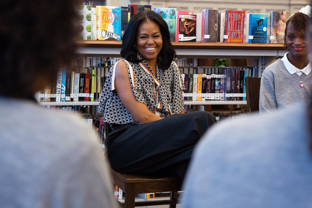 Michelle Obama Celebrates International Women's Day By Surprising A Group Of Girls At D.C. School
