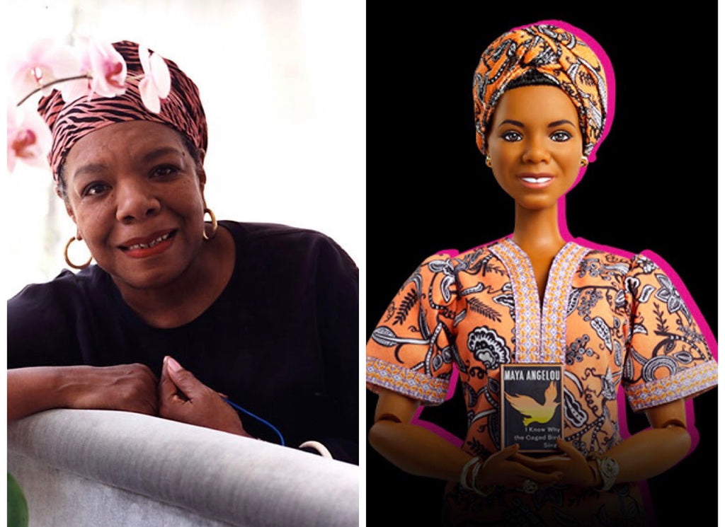 Mattel Honors Literary Icon Dr. Maya Angelou With Her Own Barbie Doll