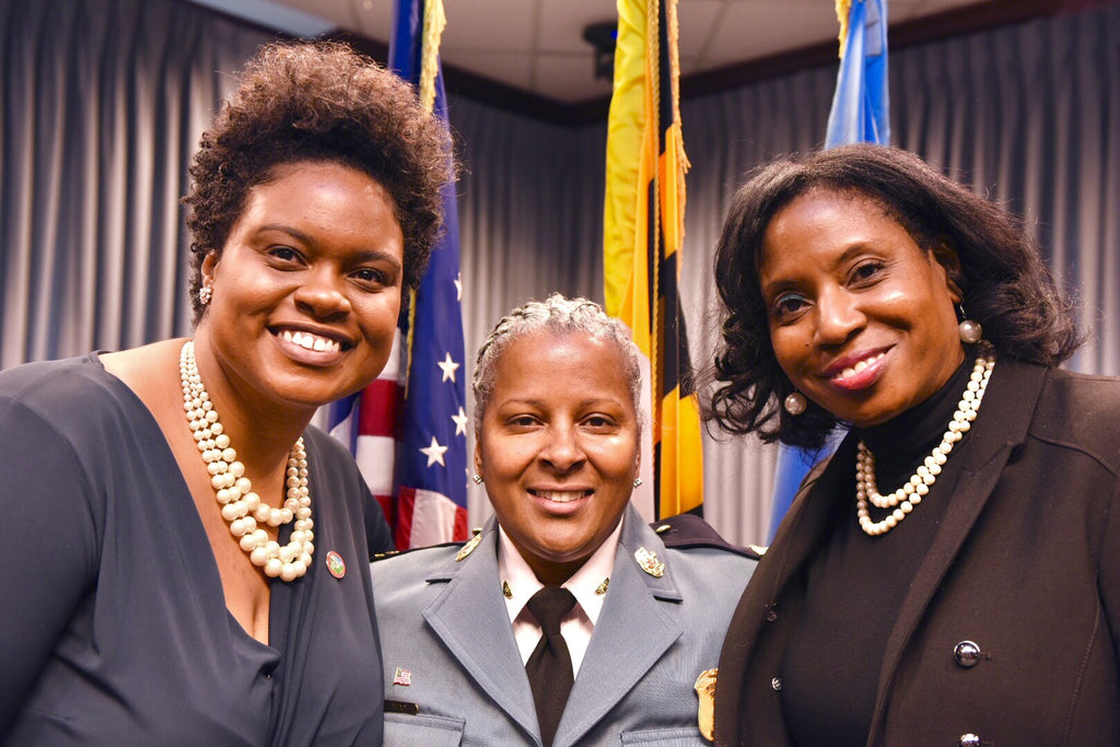 Black Girl Magic: Hyattsville, MD's First African American Mayor Swears In City's First Woman And African American Chief Of Police