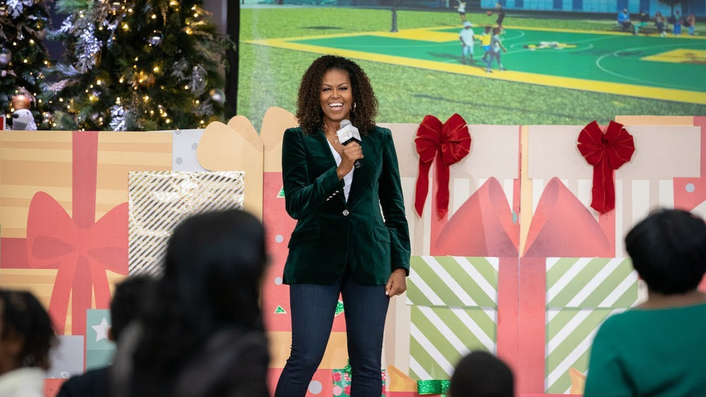 Michelle Obama and Ellen Degeneres Gift $100k And More To D.C. Elementary School