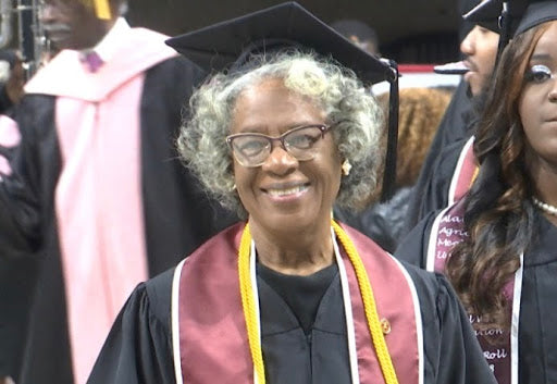 80-Year-Old Woman Fulfills Lifelong Dream By Graduating from Alabama A&M University