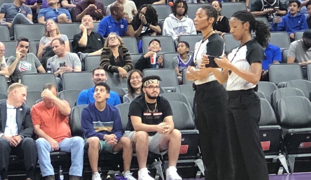 Two Black Women Make NBA History As The First Women To Referee A Game Together