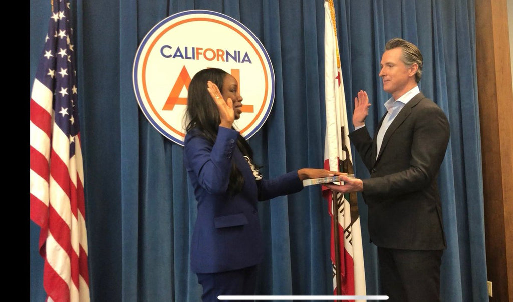 Dr. Nadine Burke Harris Officially Sworn in as California's First Surgeon General