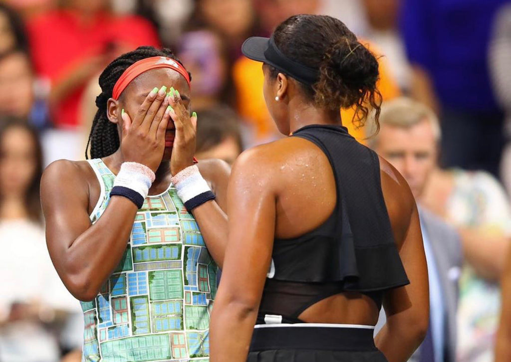 Naomi and Coco Gave Us The Best Sports and Black Girl Magic Moment of the Year