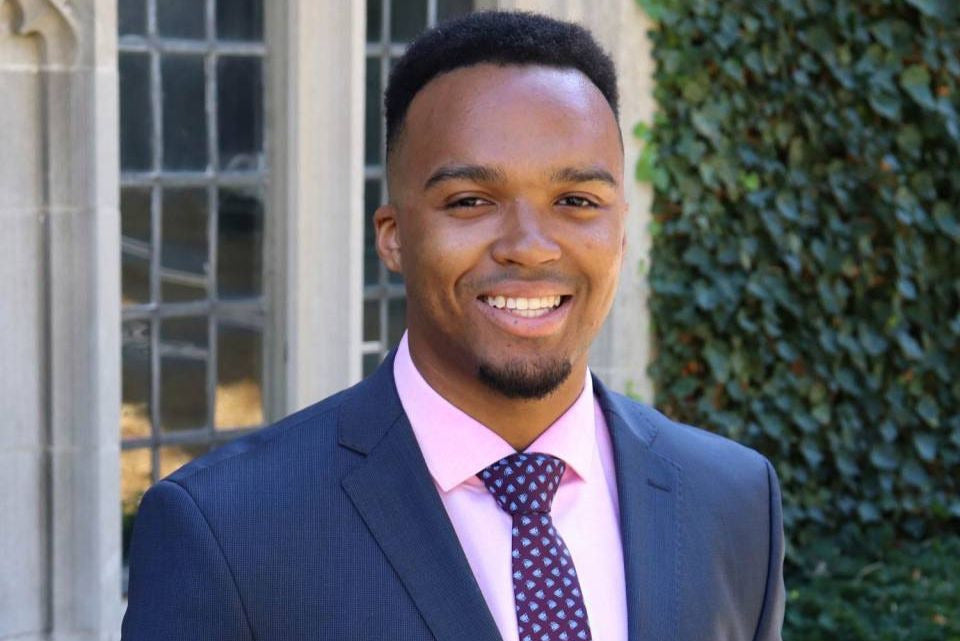 Nicholas Johnson Becomes Princeton's First Black Valedictorian