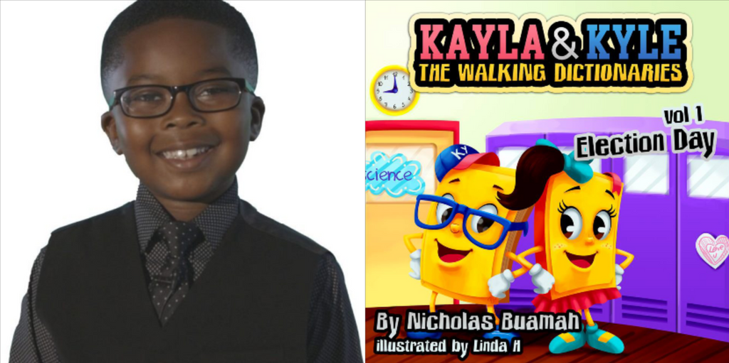The Library Of Congress Welcomes 7-Year-Old Author's Book To Its Catalog