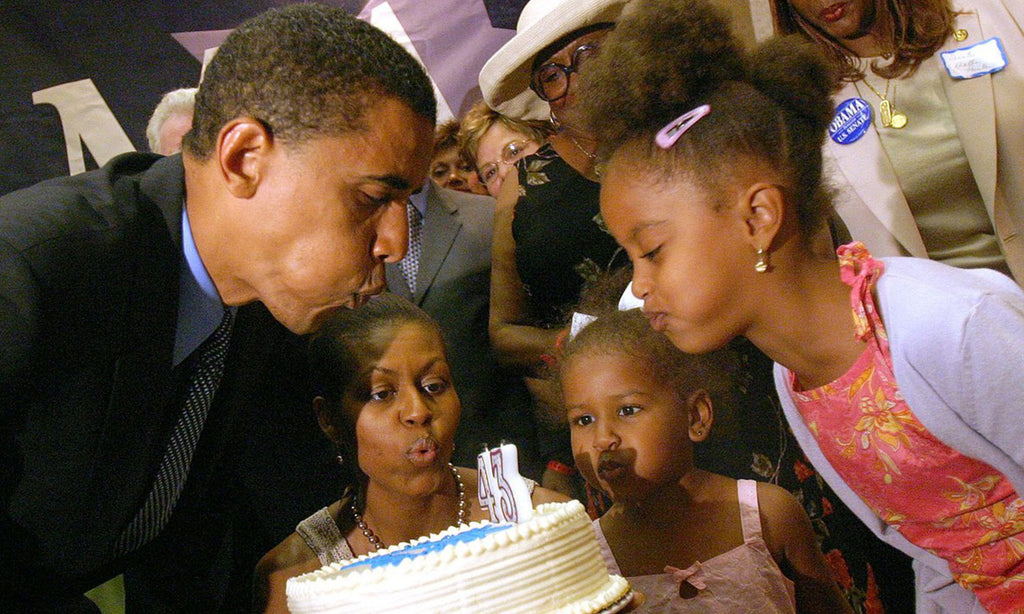 Michelle Obama Shares Sweet Message And Adorable Family Throwback Photos For Barack Obama's Birthday