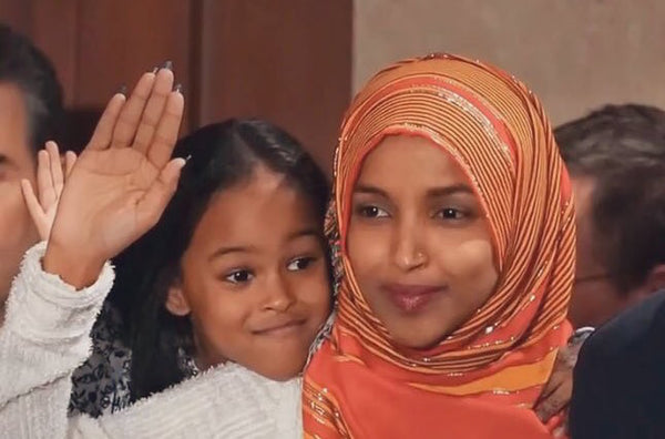 With Her Daughter By Her Side, Ilhan Omar Was Sworn In As The First Somali American Congresswoman