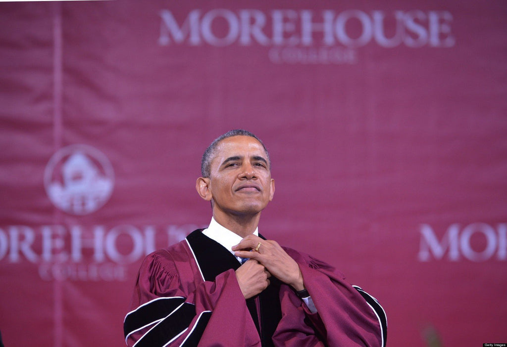 It's 'Barack Obama Day' At Morehouse College
