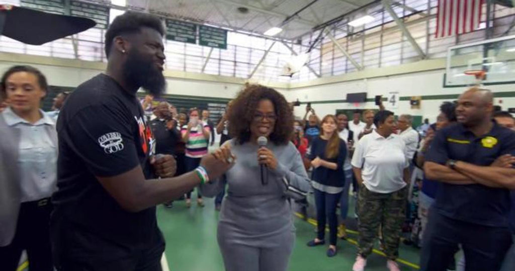 Oprah Surprises HS Principal Who Installed Laundry Room with $500,000 Donation for After School Program