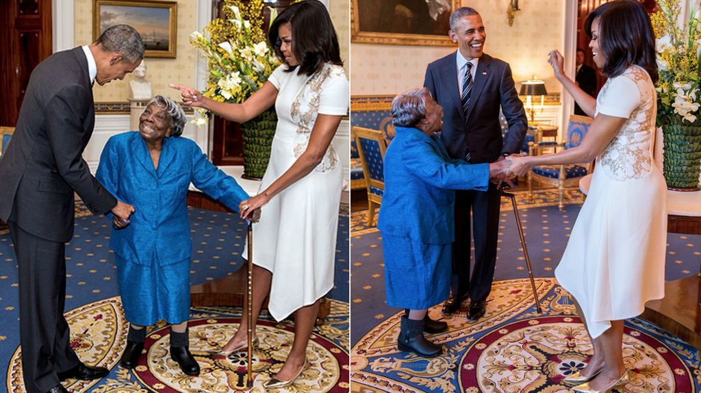 The Dancing Queen, Virginia McLaurin Celebrates Her 108th Birthday