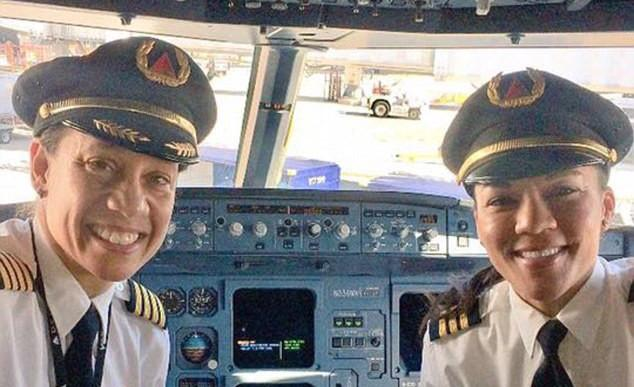 Here's How Two African American Women Pilots Made History Together At Delta Airlines