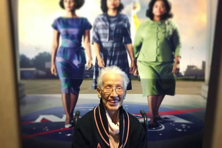 Pioneering Nasa Mathematician Katherine Johnson + Hidden Figures'  Movie Poster= Everything!