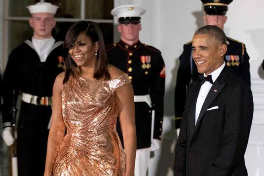 #Relationship Goals: President and First Lady Obama at their final State  Dinner