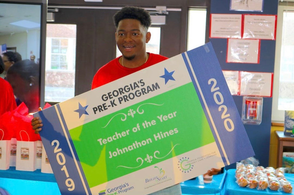 Atlanta Teacher Becomes First Black Man in Georgia To Win Pre-K Teacher Of The Year