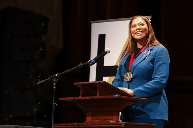 "Queen Latifah Honored by Harvard, Tells Crowd, ""Sometimes You Have To Stand Alone"""