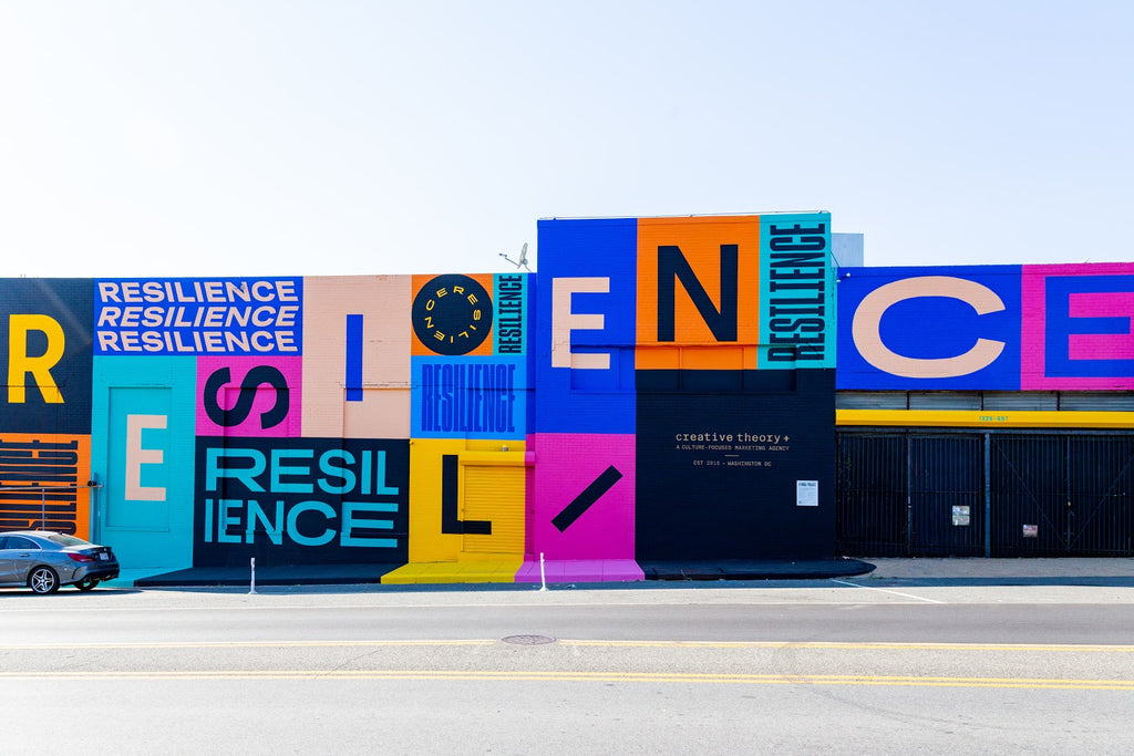 Black-Owned Creative Agency's Resilience Mural In D.C. Brings Awareness To Pandemic Relief Resources