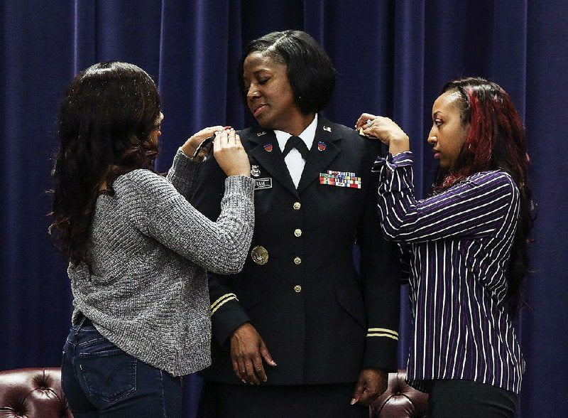 The Arkansas National Guard Welcomes First Black Woman Colonel
