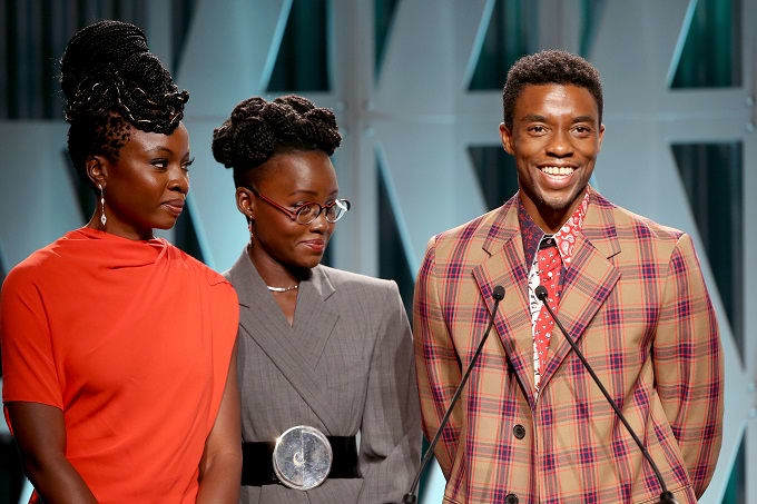 Wakanda Forever: 'Black Panther' Cast Introduces New Scholarship At The Hollywood Reporter's 2018 Women In Entertainment Gala
