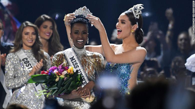 Miss Universe Just Crowned The First Black South African Winner - All Hail Black Women!