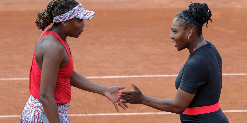 Venus And Serena Williams: The Dynamic Sister Duo Wins Doubles Match At French Open