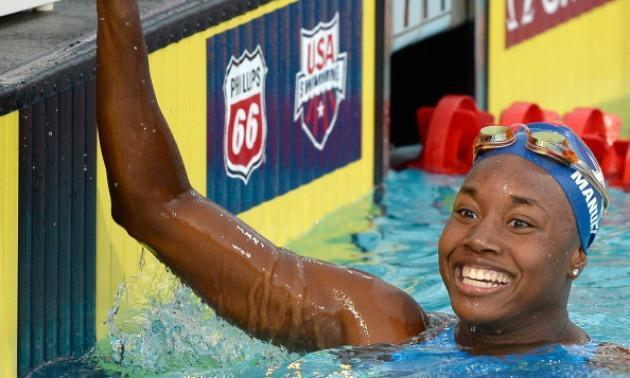 Olympic Gold Medalist Simone Manuel Makes More History