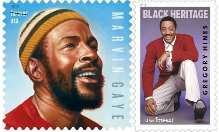 United States Postal Service To Honor Marvin Gaye And Gregory Hines With 2019 Commemorative Forever Stamps