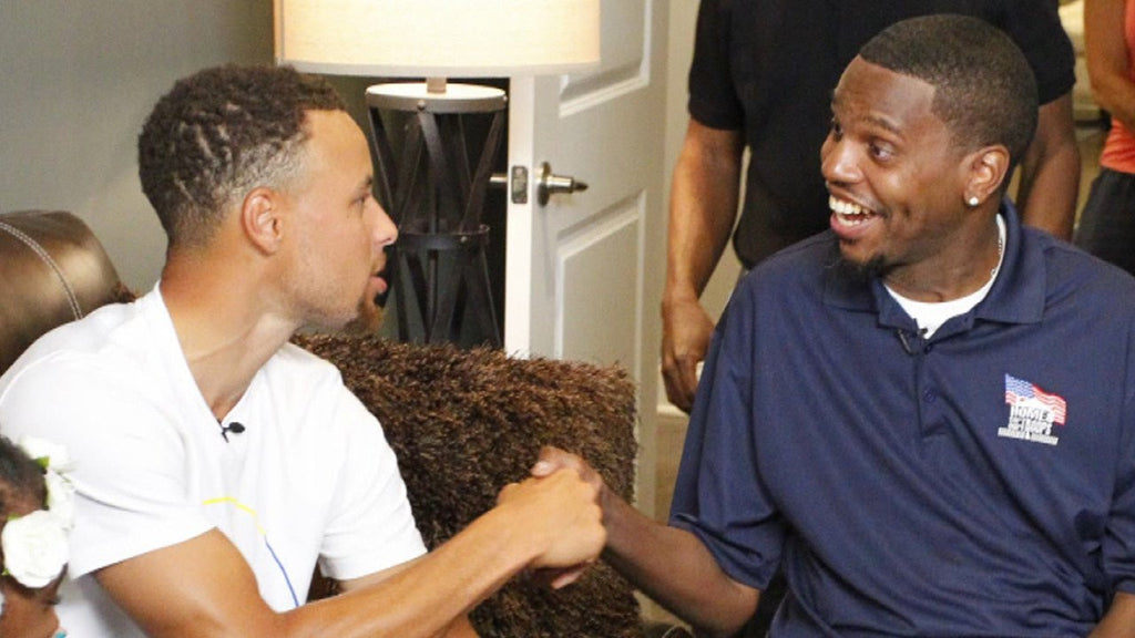 Watch: Steph Curry Surprising Navy Veteran Timothy Birckhead Will Make Your Entire Day