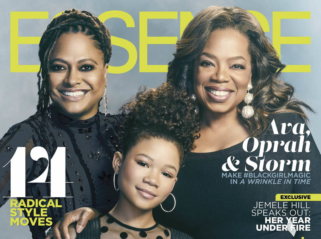 Essence's 'A Wrinkle In Time' Cover Featuring Ava DuVernay, Oprah Winfrey, And Storm Reid Is Here