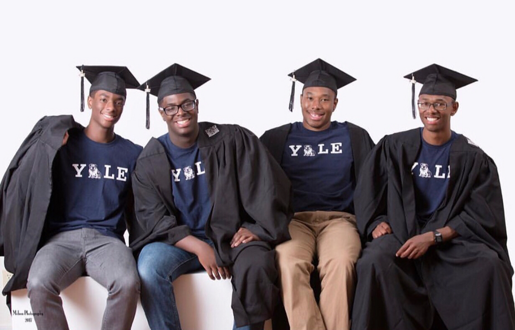 Yale Move-In Day: The Wade Quadruplets Start Freshman Year Of College Together