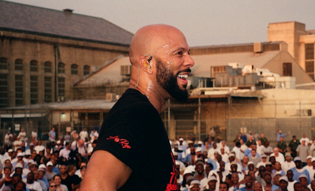 Common Performs At Folsom State Prison, Advocates For Criminal Justice Reform