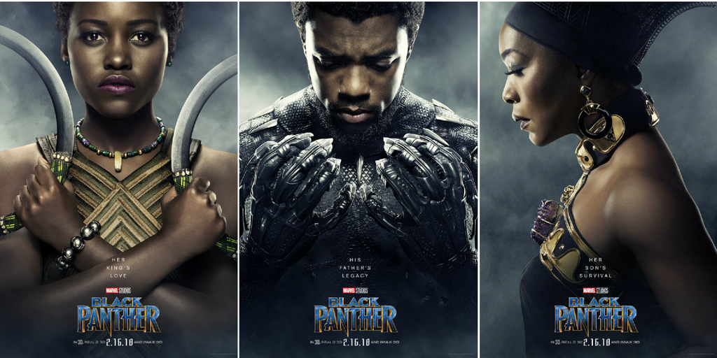 Check Out These Stunning New 'Black Panther' Character Posters