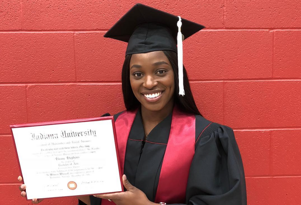 Sloane Stephens Is Officially A College Graduate
