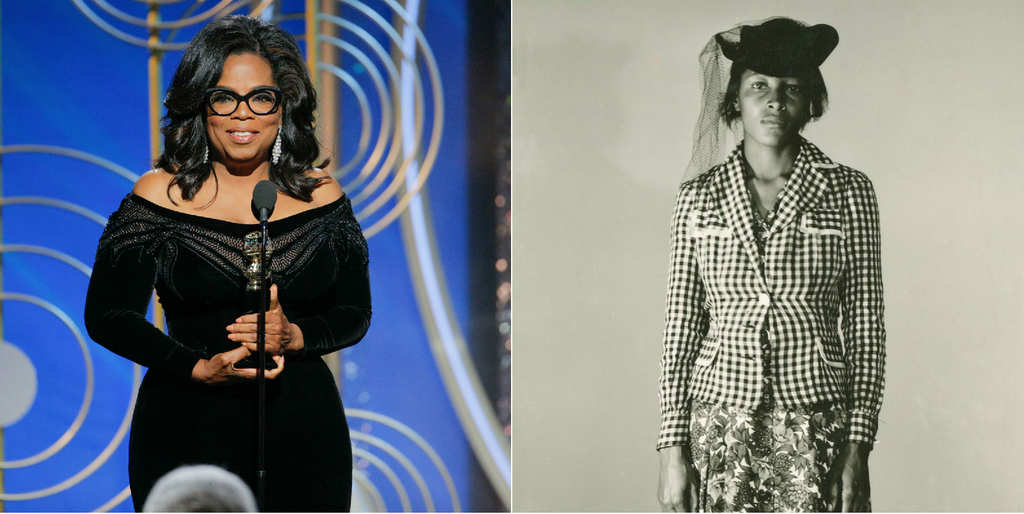 Oprah Winfrey Visits The Grave Of Recy Taylor, The Civil Rights Hero She Paid Tribute To In Her Golden Globes Speech