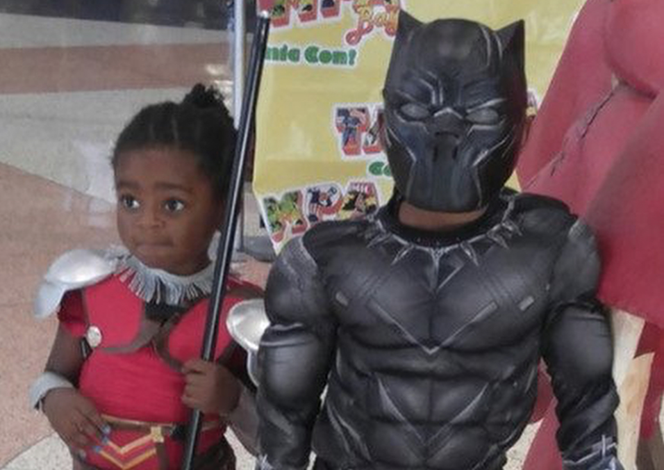 Wakanda Wednesday: Lupita Nyong'o Shares Photos Of Kids Dressed Up In 'Black Panther' Costumes