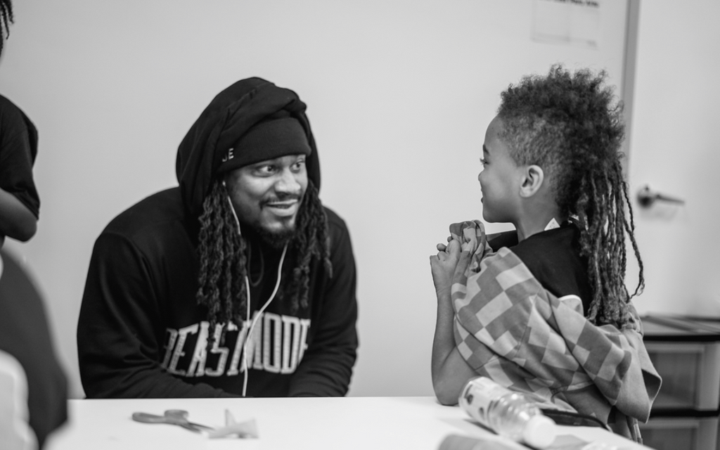 NFL Player Marshawn Lynch Helps Encourage The Next Generation Of Innovators With 'BeastCode' Event